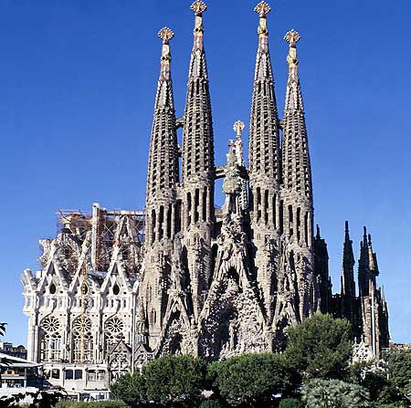 Rick Edmondson S Unfinished Buildings Sagrada Familia Barcelona